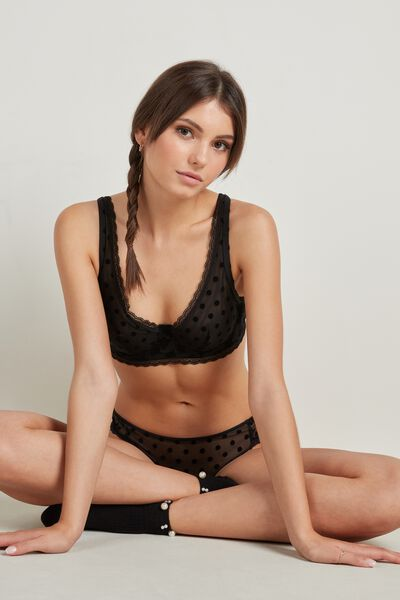 Soutien-gorge Balconnet Paris Mix Flock